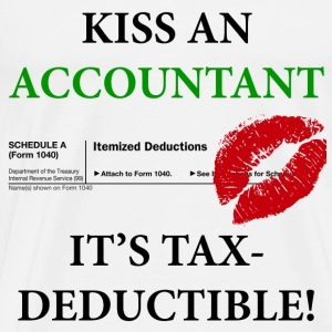 Kiss An Accountant v. 2 - Men's Premium T-Shirt