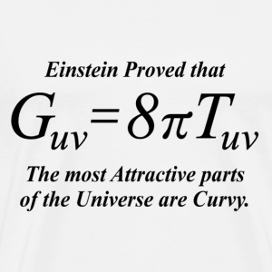 Einstein equation (humerous) - Men's Premium T-Shirt