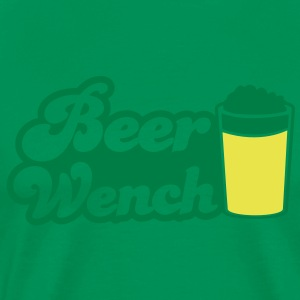 BEER WENCH beers server T-Shirts - Men's Premium T-Shirt