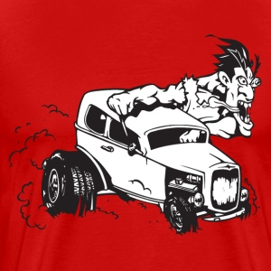 HotRod HD Design T-Shirts - Men's Premium T-Shirt