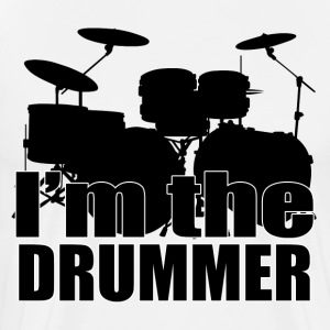 I'm The Drummer HD Design T-Shirts - Men's Premium T-Shirt