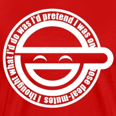 Laughing Man HD VECTOR T-Shirts