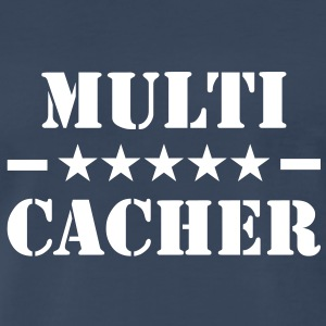 Multi-Cacher T-Shirt - Men's Premium T-Shirt