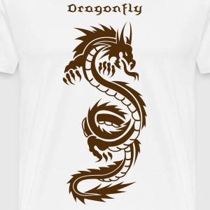 Chinese Dragon Tattoo 1 T-Shirts - Men's Premium T-Shirt
