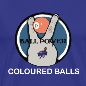 Coloured Balls - Men's Premium T-Shirt