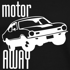 Motor Away white - Men's Premium T-Shirt
