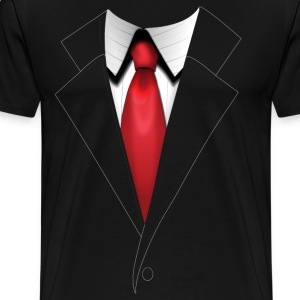 Agent 47's Hitman Suit - Plain - Men's - Men's Premium T-Shirt