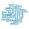 hello in 29 languages T-Shirts - Men's Premium T-Shirt