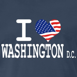 i love washington dc T-Shirts - Men's Premium T-Shirt
