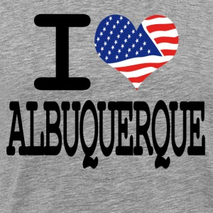 i love albuquerque T-Shirts - Men's Premium T-Shirt