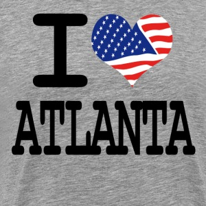 i love atlanta T-Shirts - Men's Premium T-Shirt