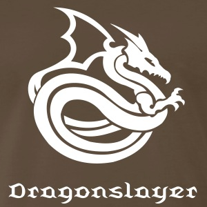 Dragon Tribal Tattoo 2 T-Shirts - Men's Premium T-Shirt