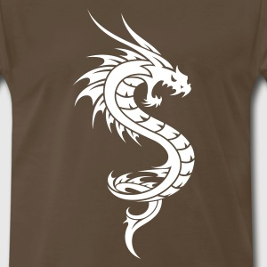 Dragon Tribal Tattoo 6 T-Shirts - Men's Premium T-Shirt