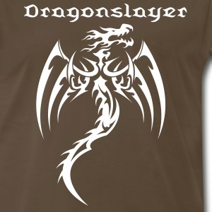 Dragon Tribal Tattoo 16 T-Shirts - Men's Premium T-Shirt