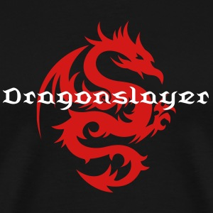 Dragon Tribal Tattoo 17 T-Shirts - Men's Premium T-Shirt