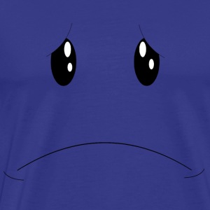 Sad Face T-Shirts - Men's Premium T-Shirt