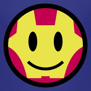 Iron Smiley Man / Iron Man Icon 3c Kids' Shirts - Kids' Premium T-Shirt