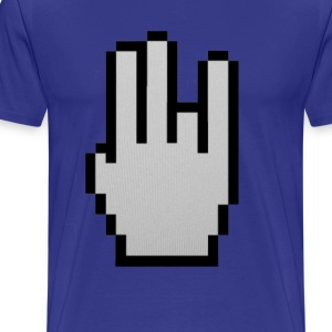 Shocker Cursor Tee - Men's Premium T-Shirt