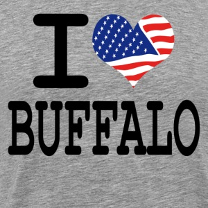 i love buffalo T-Shirts - Men's Premium T-Shirt