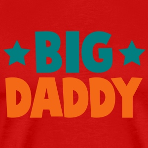 big daddy with stars!  T-Shirts - Men's Premium T-Shirt
