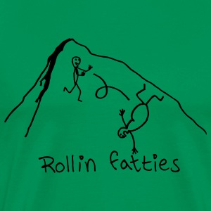 Rollin' Fatties -www.TedsThreads.co - Men's Premium T-Shirt