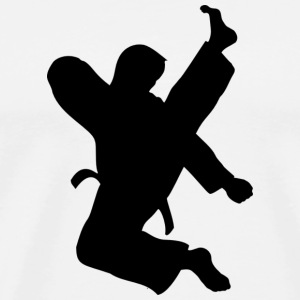 TKD High Kick - Men's Premium T-Shirt