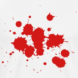 Splatter HD VECTOR T-Shirts - Men's Premium T-Shirt