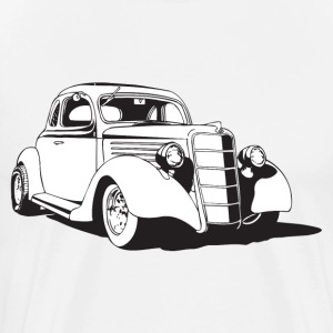Classic Car HD Design T-Shirts - Men's Premium T-Shirt