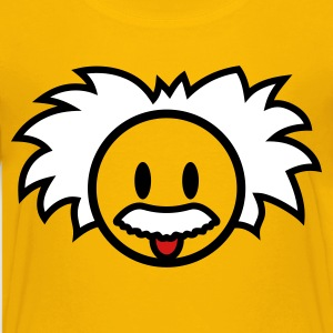Smiley Einstein Icon 3c Kids' Shirts - Kids' Premium T-Shirt