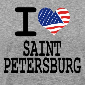 i love saint petersburg T-Shirts - Men's Premium T-Shirt