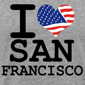 i love san francisco T-Shirts - Men's Premium T-Shirt