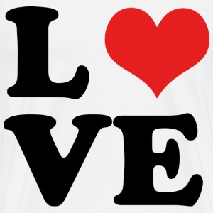 L♥VE - Men's Premium T-Shirt