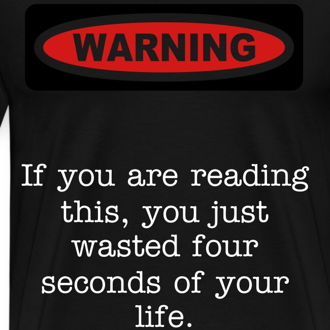 wasting your life