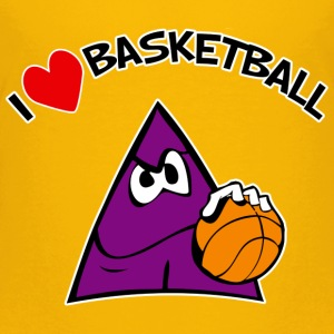 I Love Basketball. TM  kids tshirt - Kids' Premium T-Shirt