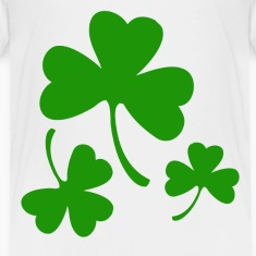 3 Three Leaf Clovers Toddler Shirts
