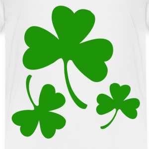 3 Three Leaf Clovers Toddler Shirts - Toddler Premium T-Shirt