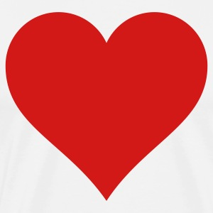 Big Heart t-shirt - Men's Premium T-Shirt