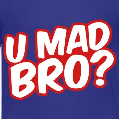 U Mad Bro? Kids' Shirts