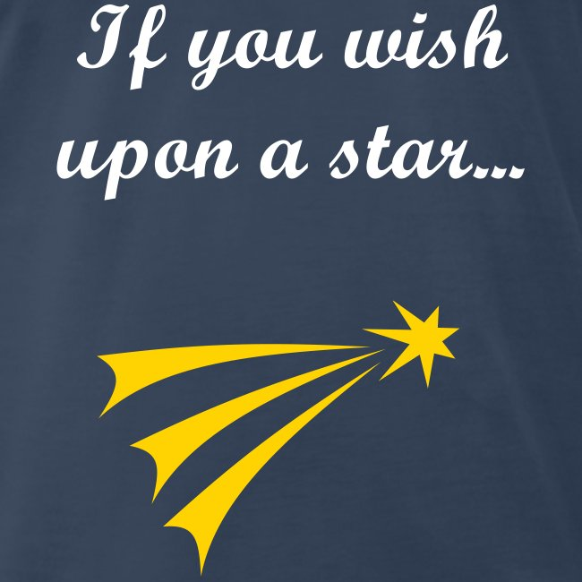 wish upon a star(more on back)