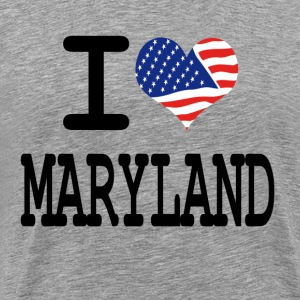 i love maryland T-Shirts - Men's Premium T-Shirt