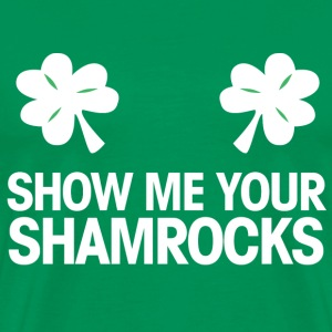 shoe me your shamrocks T-Shirts - Men's Premium T-Shirt