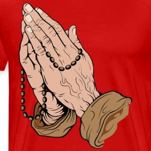Prayer HD Design T-Shirts - Men's Premium T-Shirt