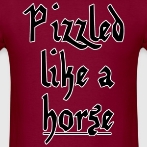 VariantVentures - Pizzled like a horse - Men's T-Shirt