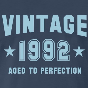 VINTAGE 1992 - Birthday T-Shirt HN - Men's Premium T-Shirt