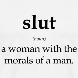 slut T-Shirts - Men's Premium T-Shirt