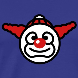 clown_smiley_3c T-Shirts - Men's Premium T-Shirt