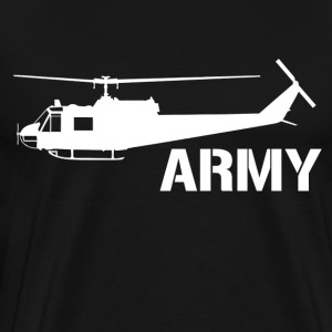 army helicopter - Men's Premium T-Shirt