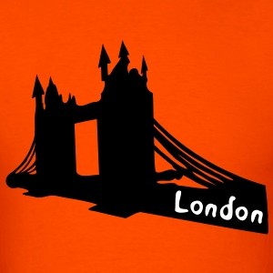 Lon don tower bridge Men's Heavyweight T-Shirt - Men's T-Shirt