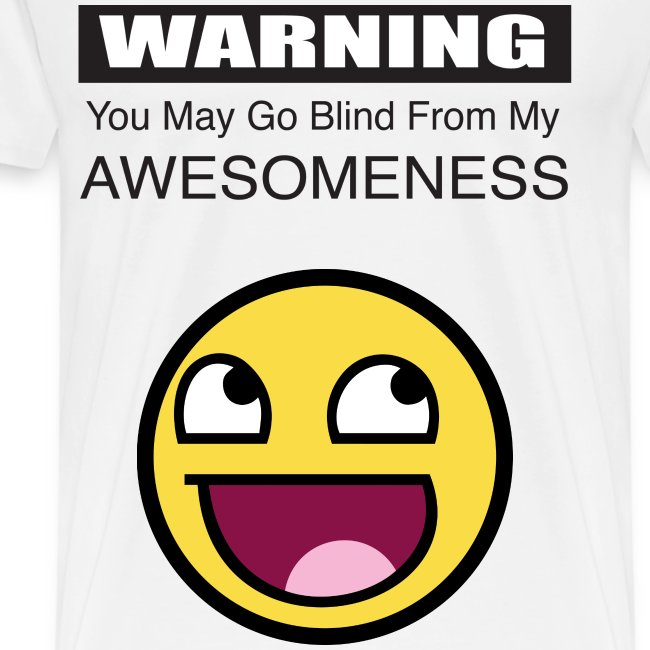 awesome blindness