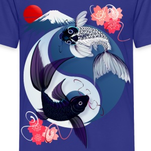 Yin and Yang Koi - Kids' Premium T-Shirt